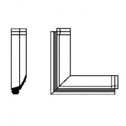 Angolo stampato x art.g1141044 [42004455]